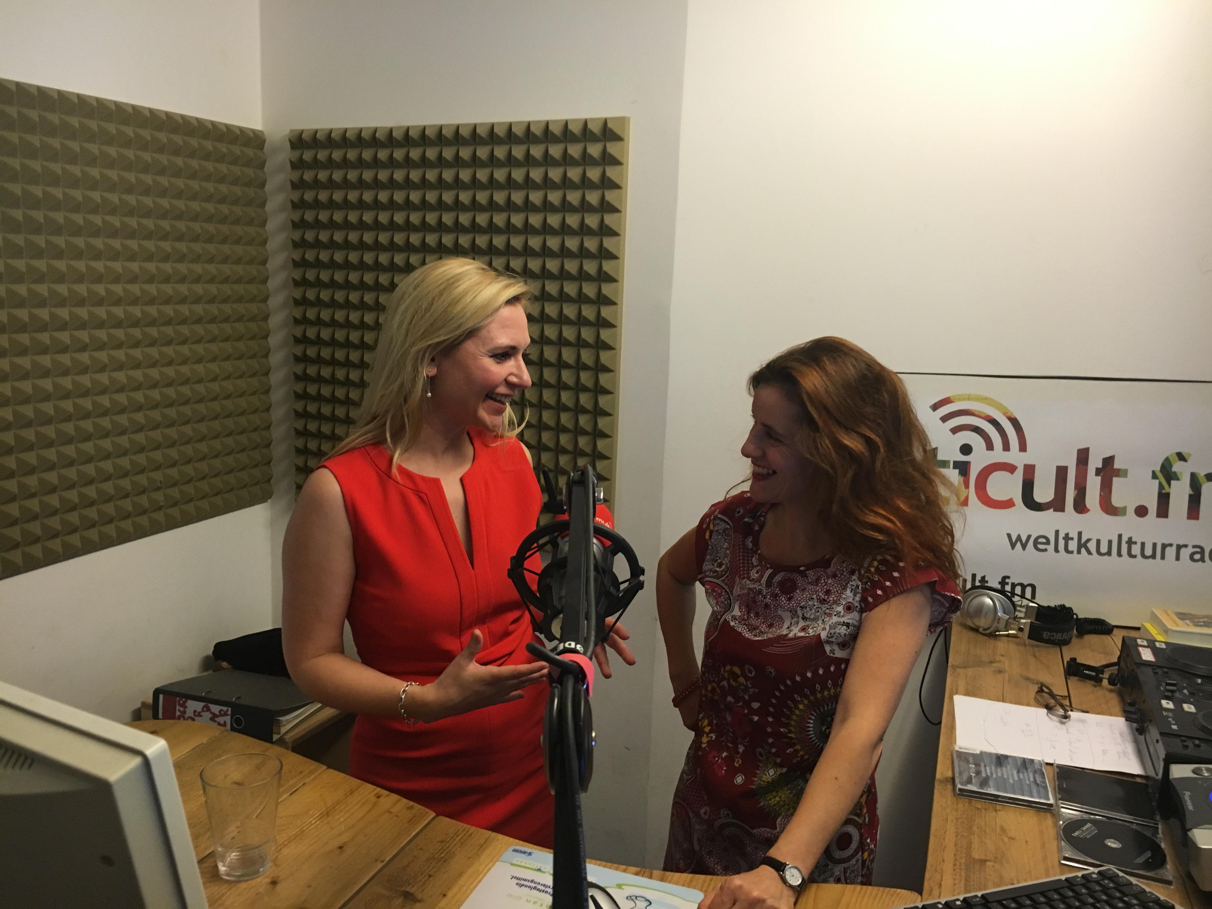 Radio: Sandra Pabst talks about Fempreneurship