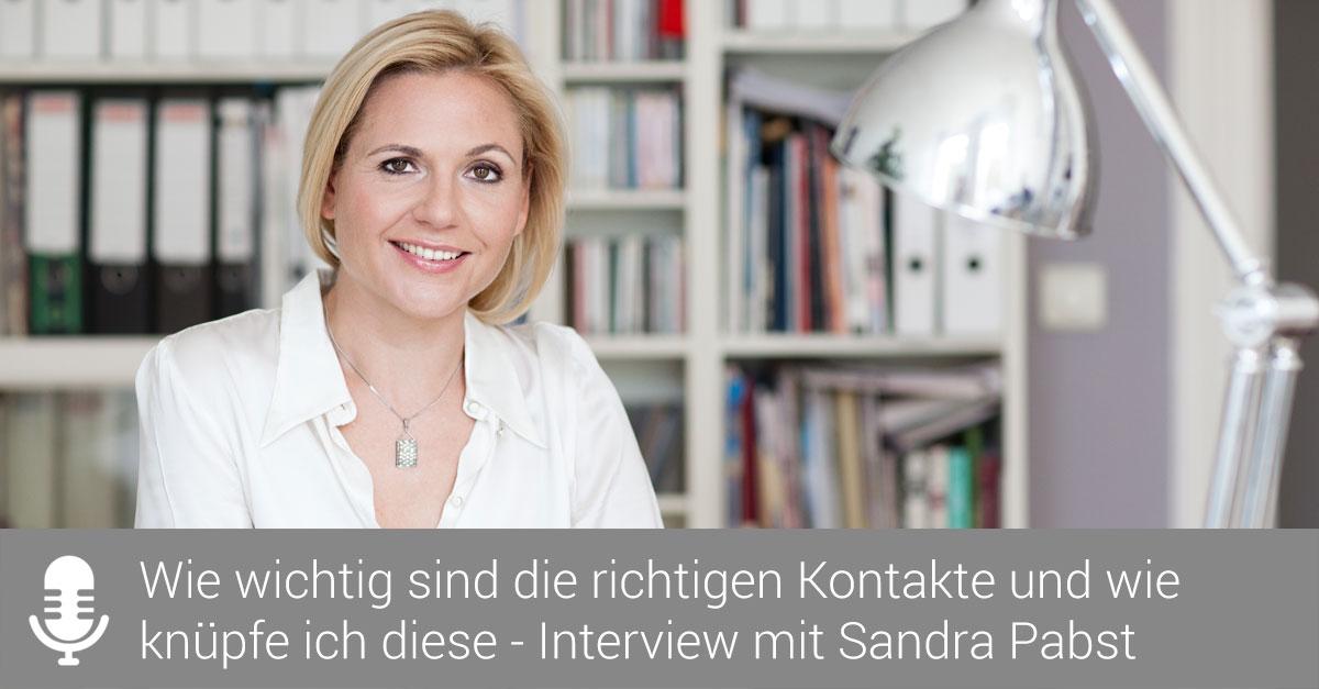 Podcast-Interview über das richtige Netzwerken