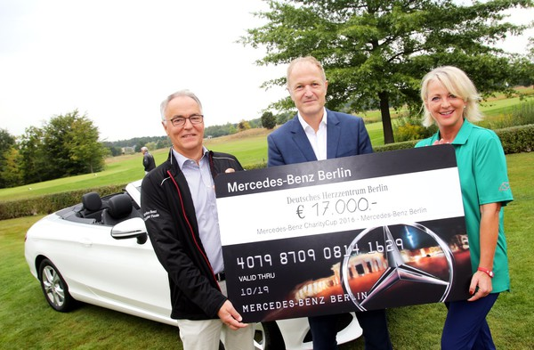 Charity: Mercedes-Benz CharityCup 2016