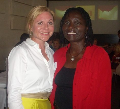 Charity: Founding of women4children with Dr. Auma Obama